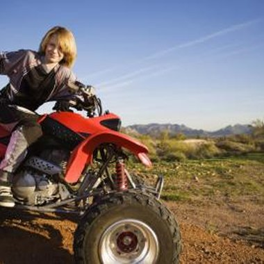 ATV riding is a popular activity in the Hocking Hills area.