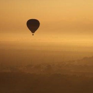 Hot air ballooning is one activity for families near Anthem.
