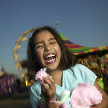 Celebrate your daughter's sixth birthday with a carnival-themed party.