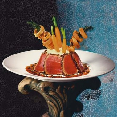 Tuna is often served as a delicacy in restaurants.
