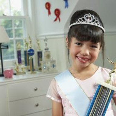 Present a deserving pageant contestant with a meaningful gift.