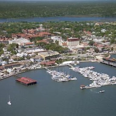 St. Augustine, on the Florida coast, is home to several arts and crafts shows.