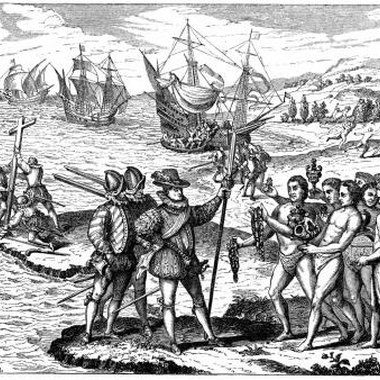 Columbus believed he encountered