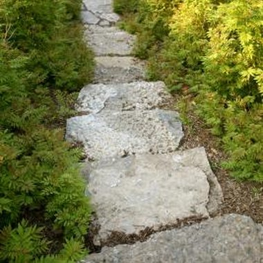 Lead the way with some beautiful garden stones.