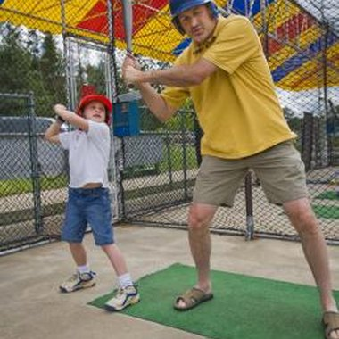 Batting cages help hitters learn proper technique and perfect their timing.