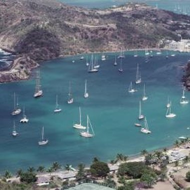 Antigua is home to several harbors, cruise ports and beach coves.
