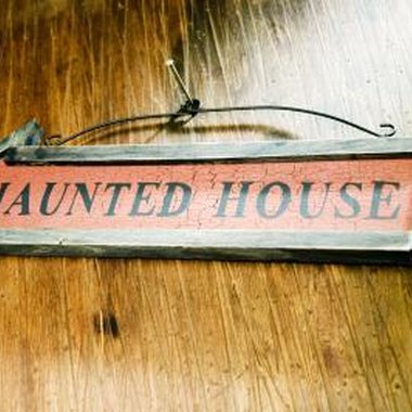 Haunted houses are huge crowd pleasers during the Halloween season.