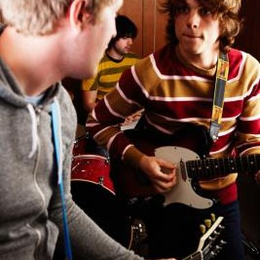 Playing with other musicians is one of the best ways to improve your own skills.