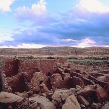 Chaco Cultural National Historical Park is home to evidence of prehistoric geometry and engineering.