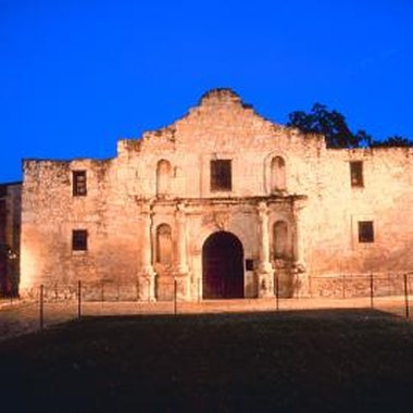 The Alamo is not only a great historical landmark but also makes for a fun scanvenger hunt.