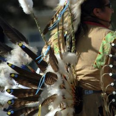 The Native American rain dance was symbolic and extravagant.