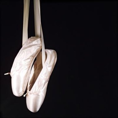 From the simplest ballet shoes can come great art.
