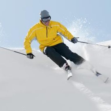 Ski resorts provide Rochester's visitors with fun winter activities such as downhill skiing.
