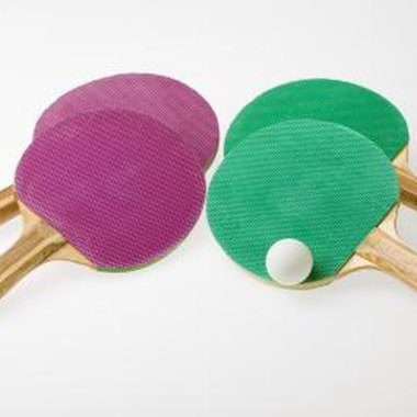 Ball catch nets make playing table tennis easier.