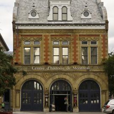 The Centre d'Histoire de Montreal is a museum that has artifacts dating to the birth of Montreal.