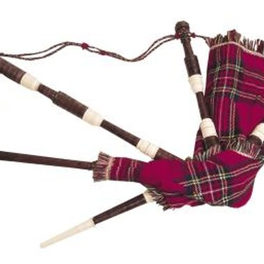 Bagpipes have become symbolic of Scottish history.