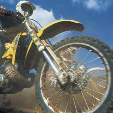 Southern California has many locations where dirt bike riders can cut loose.