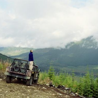 Four-wheel trail driving is a popular activity near all of Yellowstone Park's gateway communities.