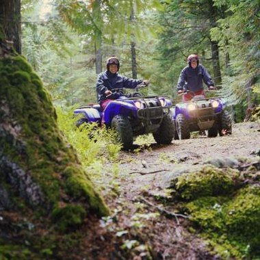 Lac Ste. Anne's ATV club hosts periodic gatherings for members.