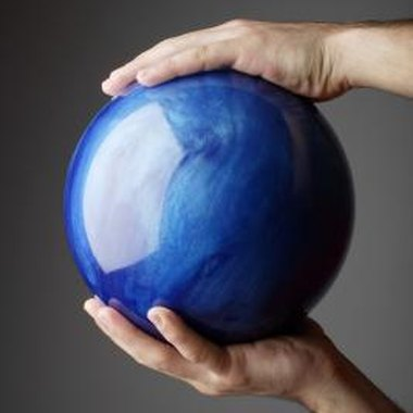 Give an old bowling ball new life as a repurposed art or science project.