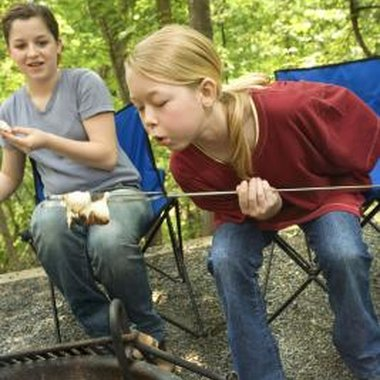 Girl Scout campgrounds in Ohio offer troops many activity choices.