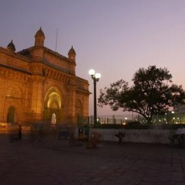 Mumbai's Gateway of India is a major visitor attraction.