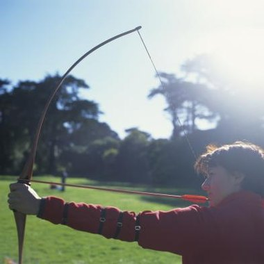 The longbow is used for sport, hunting and friendly competition today.