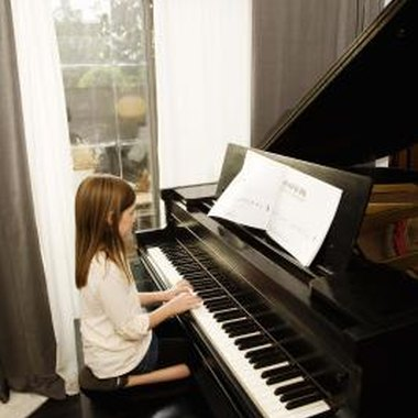 The Rainbow Piano Technique helps younger students learn how to play the piano.