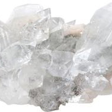 Quartz crystals are a favorite find for rockhounds in the Kalama area.