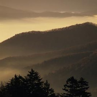 Gatlinburg is nestled in the Great Smoky Mountains.