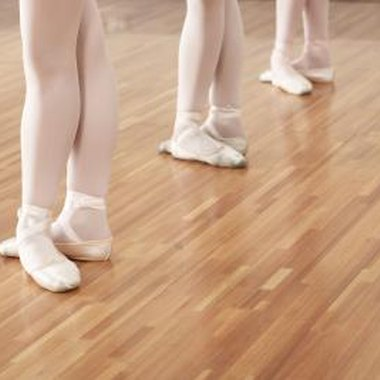 Ballet shoes can be used as decoration.