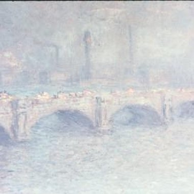 Monet traveled around Europe to capture landscapes and seascapes.