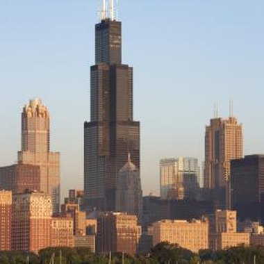 A cruise provides amazing views of the Chicago skyline.