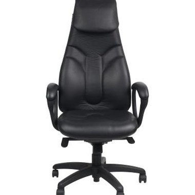 Desk chairs should give firm support and a comfortable seating angle.