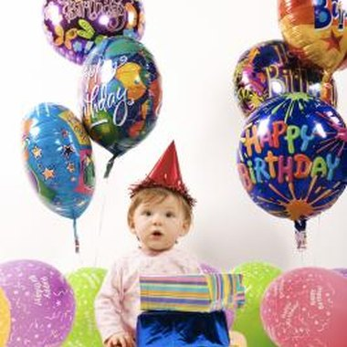 The first birthday is often a huge celebration.
