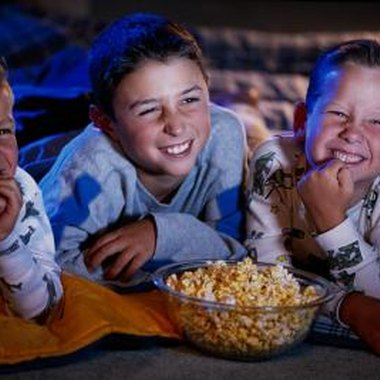 Plan a sleepover movie marathon with lots of pizza, popcorn and snacks.