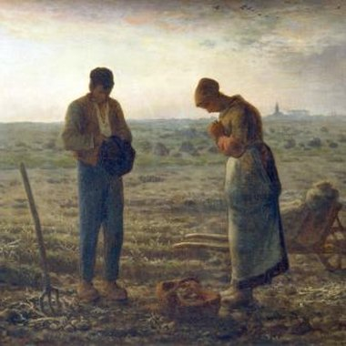 The last of four paintings Millet created depicting farm life,