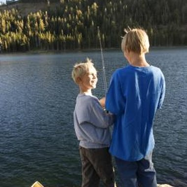 Children under 16 in California don't need a fishing license.