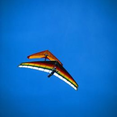Professional hang gliders can glide for several miles.