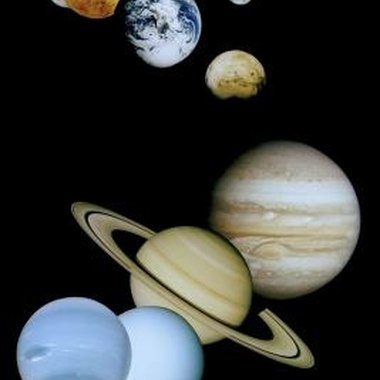 Eight planets comprise the solar system.