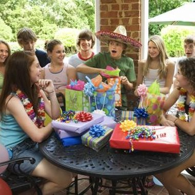 Give your teen a birthday fiesta where you play games and offer prizes.