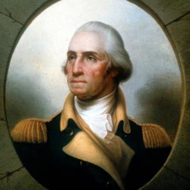 George Washington stood very tall at nearly 6 feet 2 inches.