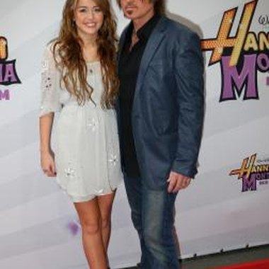 Miley Cyrus (here with her dad, Billy Ray Cyrus) created the Hannah Montana phenomenon.
