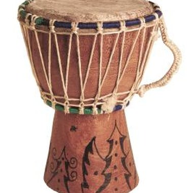 Make your own African drum at home.
