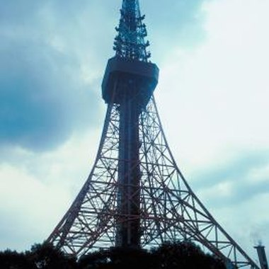 Inspired by the Eiffel Tower, Tokyo Tower gives visitors a breathtaking view of the city.
