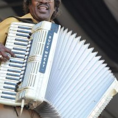 Zydeco bands play at Shreveport festivals.