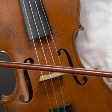The sound post influences a violin's sound quality.