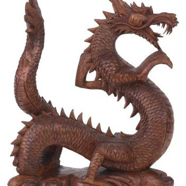 Dragons can be sculpted to look however you imagine them.