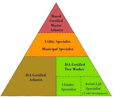 The ISA certification pyramid offers candidates many options