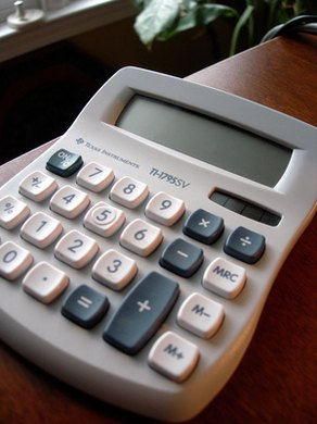 A calculator can assist you in finding the radius of a square.